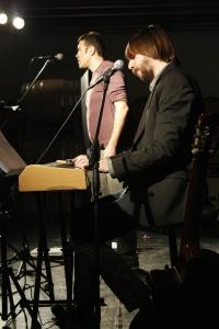 Gli Sprassolati on stage (foto di Massimo Achill)