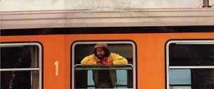 Gerardo Carmine Gargiulo al bordo dell'Avellino Express