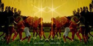 """La copertina, aperta, di """"Anima latina"""", il capolavoro di Lucio Battisti"""