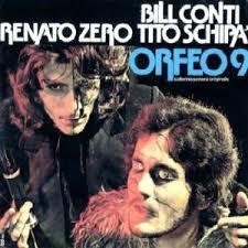 Un'altra edizione in vinile (tra le tante) che in copertina presenta uno dei nomi più famosi del cast dell'Orfeo 9