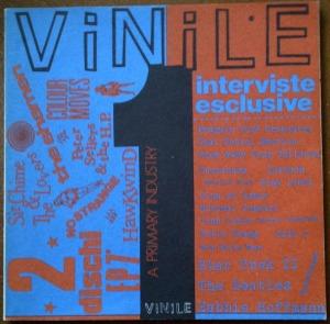 """Il n. 1 della rivista """"Vinile"""" (1987). Allegava 2 EP in cui compariva, tra l'altro, il pezzo dei Sir Chime and the Lovers che vi proponiamo in questa puntata"""